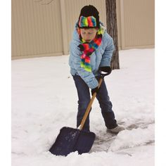 Child-Size+Snow+Shovel