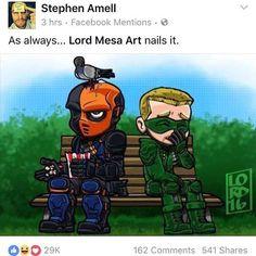 Lordmesa Art — Aww shucks!! I do my best!!! #Arrow #greenarrow...