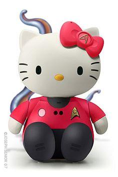 Hello Kitty Star Trek
