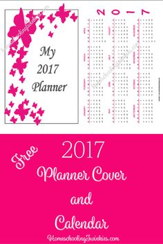 Pinterest image for 2017 Calendar and Cover