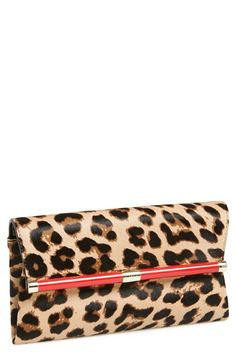 387a1e26d9f1 Diane von Furstenberg  440  Genuine Calf Hair Envelope Clutch Beautiful  Handbags