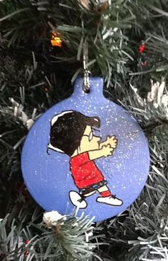 MARCIE MARCY Dance Charlie Brown PEANUTS Christmas Ornament 2012 SNOOPY Tree | eBay