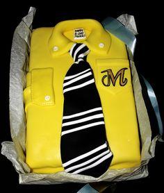 BOSS SHIRT CAKE Shirt Cake, Boss Shirts, 3d Cakes, Cake Designs, Cake Ideas