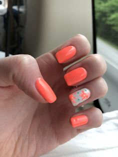 Cute summer starfish nails :)) #cutesummernails