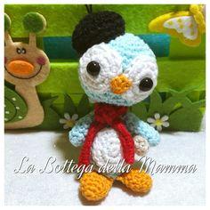 Pinguino francese. Seguimi su facebook  https://www.facebook.com/La-Bottega-della-Mamma-262207623833688/