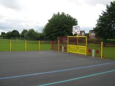 MUGA for Juniors, Multi-Use Games Areas, AMV Playgrounds.