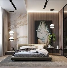 Modern Bedroom, Bedroom Inspirations, Bedroom Furniture Design, Bedroom Design, Luxurious Bedrooms, Luxury Living Room, Master Bedroom Interior, Modern Bedroom Interior, Room Design Bedroom