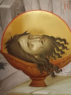 Byzantine Icons, Byzantine Art, John The Baptist, Religious Icons, Adam And Eve, Orthodox Icons, Hair Designs, Drawings, Pictures