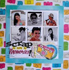 Scrap to keep my memories
