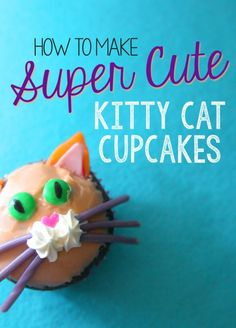 If you've got a birthday coming up, a party to attend, or just a good ol' sweet tooth - you've got a valid reason to make cupcakes! If you're a cat lover, try your hand at these super cute kitty cat cupcakes that are super simple to make, and (almost) too cute to eat! Read on as eBay shows you how to make super cute kitty cat cupcakes!