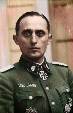 SS-Obersturmbannführer Max Seela, SS-Totenkopf Division