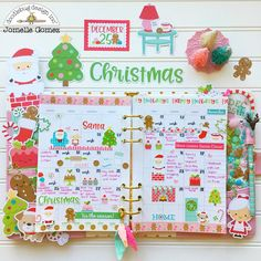 Good Morning! Jomelle here today sharing my planner set using the Milk and Cookies collection. I just love the hint of pink in this collect...