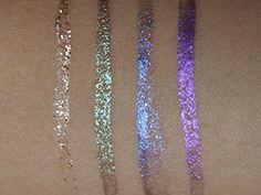 Lux Metallic and Diamond Liquid Eyeliners