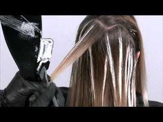 COMO HACER BALAYAGE PASO A PASO CON ALUMINIO (TUTORIAL) DIFERENTES TECNICAS - YouTube