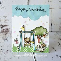 make this fun birthday card just for the birthday girl, @cherise_giselle_  wish you the happiest of birthdays!  #lawnfawn #birthdaycard #handmadecard #cardmaking #papercrafts #crafts #madewithloveindonesia #lifeisfun