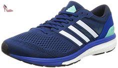 adidas Adizero Boston 6, Chaussures de Running Compétition Homme, Bleu (Mystery Blue/night Navy/blue), 41 1/3 EU - Chaussures adidas (*Partner-Link)