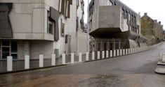 Avon Scimitar SB970CR Static Bollard - Avon Barrier Pavement, Perception, Glasgow, Bristol, Avon, Construction, Building, Buildings, Sidewalk
