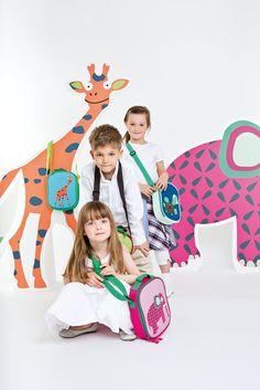 #Lässig 4 Kids • WILDLIFE Collection • #travel #zaino #valigia #trolley #bambini #kids #viaggiare #vacanza #scuola #amici #elefante #animali