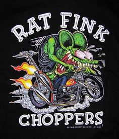ratfink | Race? see picture -Adult size has small RF on front - this is also ...