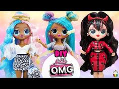 Le plus récent Photos lol omg Stratégies Lol Dolls, Cute Dolls, Barbie Dolls, Diy Crafts For Girls, Fun Crafts, 8 Year Old Christmas Gifts, Cupcake Pictures, Girls Dollhouse, Kid Cupcakes