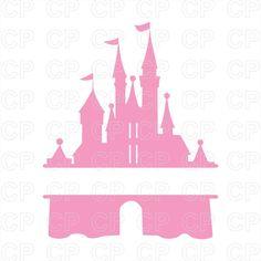 Heart Castles Cutout Files for Cricut SVG and Silhouette Studio File Cut Out Stencil Decal Logo SVGS Princess Fairytale Happy Decoration