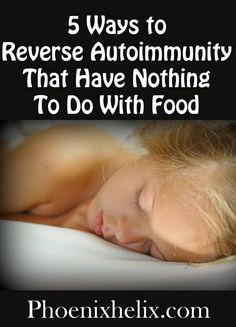 5 Ways to Reverse Autoimmunity That Have Nothing To Do With Food | Phoenix Helix. When we follow the Paleo Autoimmune Protocol, food is foremost in our mind. We avoid the foods that exacerbate autoimmune disease and eat the foods that help us heal. The right food is essential, but healing is about more than just food. Lifestyle affects autoimmunity just as strongly.