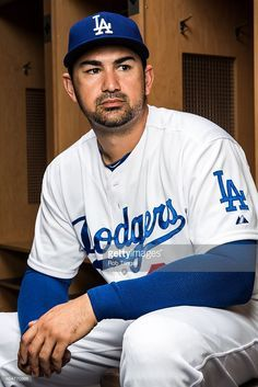 Adrian Gonzalez of the Los Angeles Dodgers poses for a portrait. a615f6424
