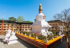 Top 15 Places to Visit in Sikkim in 2020 (With Pictures) - eSikkim Tourism Stuff To Do, Things To Do, India Holidays, Valley Of Flowers, Gangtok, Northeast India, Darjeeling, India Tour, Buddhist Temple