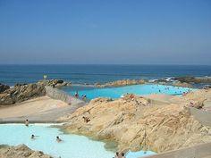 ✖ Swimming-pool, Leça da Palmeira, Alvaro Siza - Matosinhos, Portugal