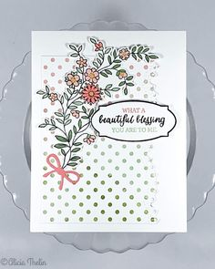 Beautiful Blessing Favorite Person, My Favorite Things, Concord And 9th, Greeting Cards Handmade, Blessing, Cas, Holiday Cards, Cardmaking, Stampin Up