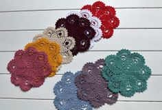 Nice crochet doilies, i can use it  as table mat, vase mat, coaster, photography tools, or home decor