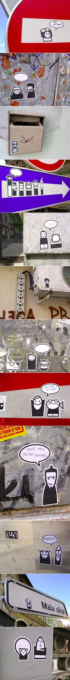 Street Art #design #StreetArt #urban #UrbanArt #paint #graffiti #inspiration #ArtInspiration #DesignInspiration #SprayPaint