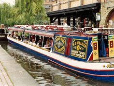 London Canal Boat Cruises - Walker's Quay - So much fun! Barge Boat, Canal Barge, Canal Boat, Narrowboat Interiors, Camden London, Windsor, London Places, Floating House, Cruise Travel