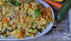 Verduritas con cuscús y alubias, un plato que gusta a los niños Fried Rice, Fries, Ethnic Recipes, Food, Vegetables, Plate, Ethnic Food, Green Beans, Meals