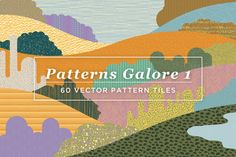 Check out 60 Vector Patterns by spacelab on Creative Market