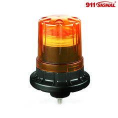 The LED flashing beacon FD24-AS has dual-protection water-resistance, which is dealt with in two ways. Water infiltration of the larger unit is prevented through seal loops in the base.