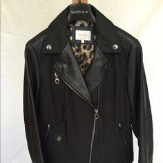 Laundry by Shelli Segal Jackets & Coats - Laundry mixed media Moto jacket