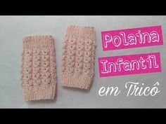 YouTube Baby Knitting, Crochet Baby, Fingerless Mittens, Lana, Make It Yourself, Youtube, Blog, 1, Boot Cuffs