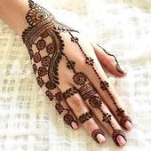 Explore latest Mehndi Designs images in 2019 on Happy Shappy. Mehendi design is also known as the heena design or henna patterns worldwide. We are here with the best mehndi designs images from worldwide. Henna Hand Designs, Mehndi Designs Finger, Simple Arabic Mehndi Designs, Stylish Mehndi Designs, Mehndi Designs For Beginners, Wedding Mehndi Designs, Latest Mehndi Designs, Mehndi Designs For Hands, Henna Tattoo Designs