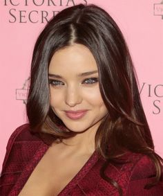 mocha brown cool medium brown hair color more miranda kerr hair colors ...