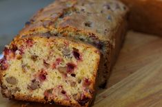 """Cranberry Nut Bread! A """"Must Have"""" during the holidays!"""