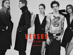 Versus Versace F/W 15/16 campaign | The Fashionography