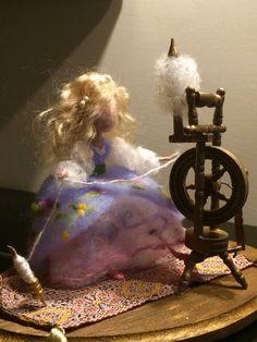 Needle felted Waldorf   soft sculpture  Fairytale von DreamsLab3