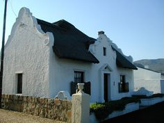 Cape Dutch-style House, Hermanus by RobW_, via Flickr