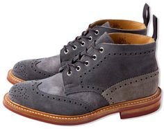 CASH CA x Trickers   Fall/Winter 2012 Footwear Collection...stephen loves them; too bad they are over 1k!