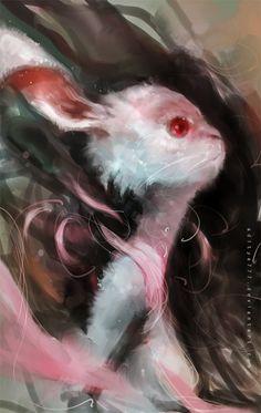 Rabbit by aditya777.deviantart.com on @deviantART
