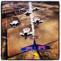 #redbull #wingsuit #plane