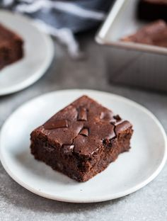 chewy vegan, gluten free dark chocolate espresso brownies