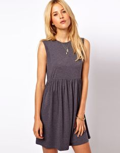 Sleeveless Smock Dress - just simple but useful