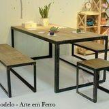 Outdoor Furniture Sofa, Welded Furniture, Cool Furniture, Furniture Design, Cafe Tables, Table And Chairs, Cupboard Design, Office Desk, Dining Bench